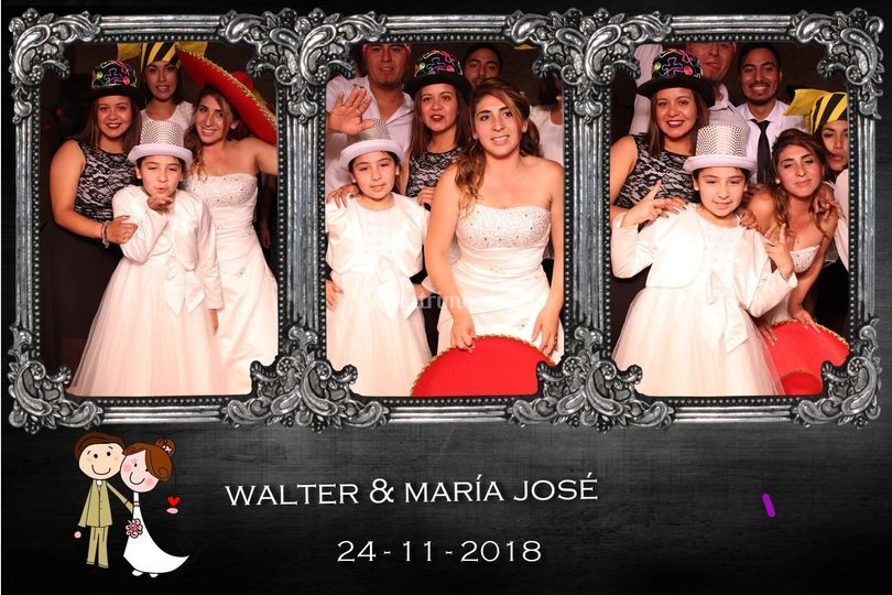 Matrimonio walter & maría josé