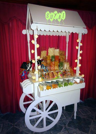 Carrito candy Bar Suyai