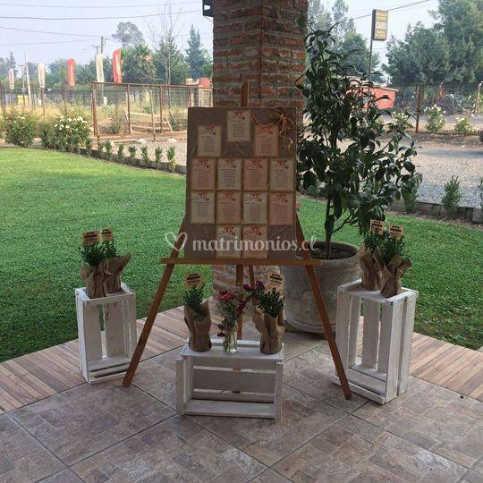 Rincón decorado