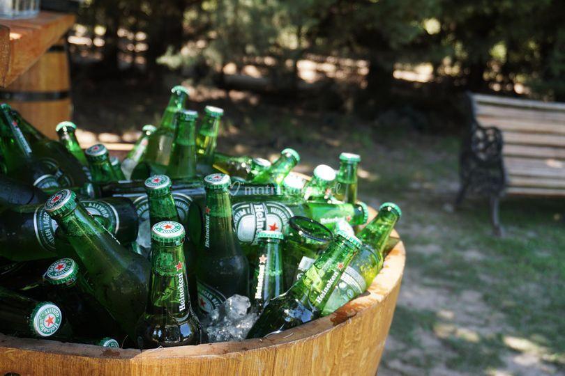 Media barrica para cervezas