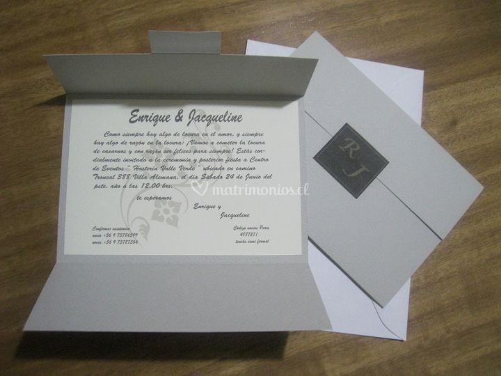 Elegante invitación