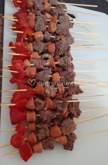 Mini brochetas