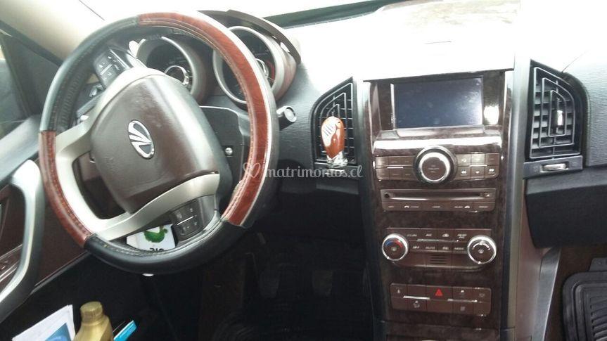 SUV ejecutiva interior