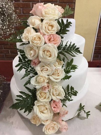 Pastel de boda en tpv