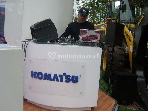 Mesa para el DJ