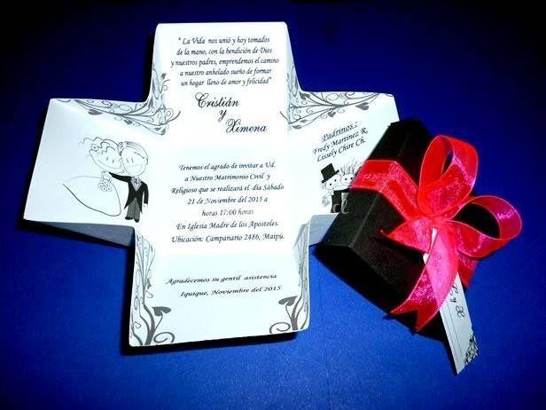 Invitación boda cajita