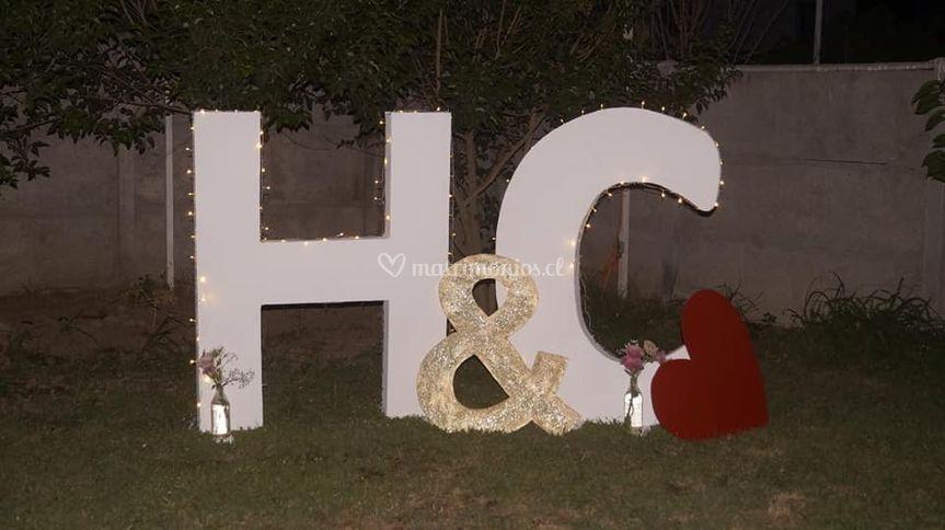 Letras h&c