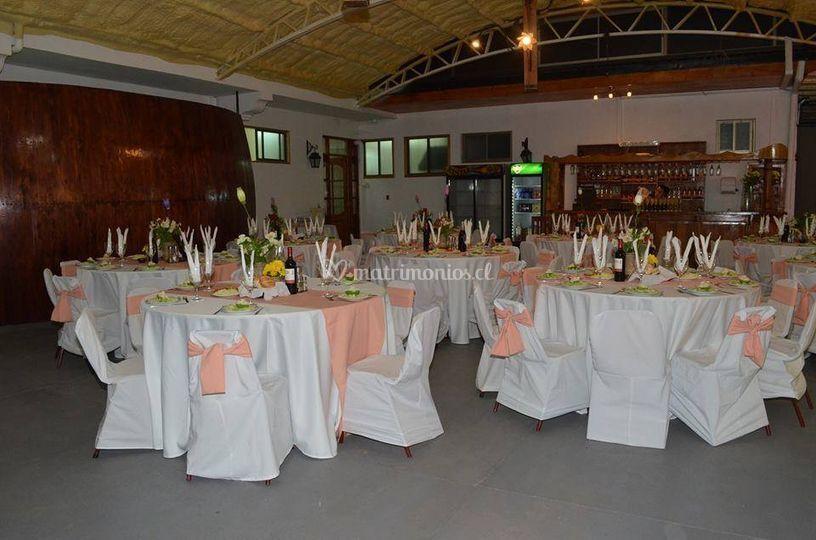 Salón en damasco