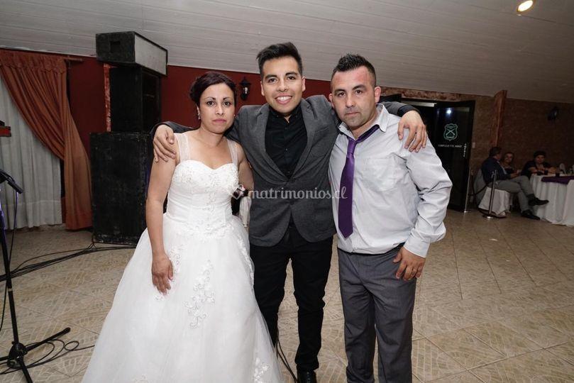 Matrimonio Pedro y Carolina