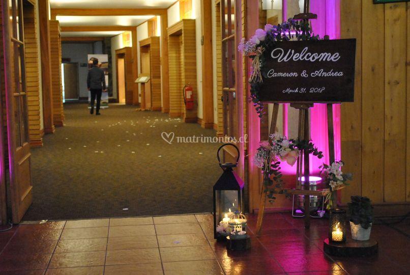 Bienvenida hotel puyehue