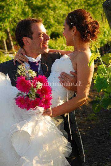 Recogido novia