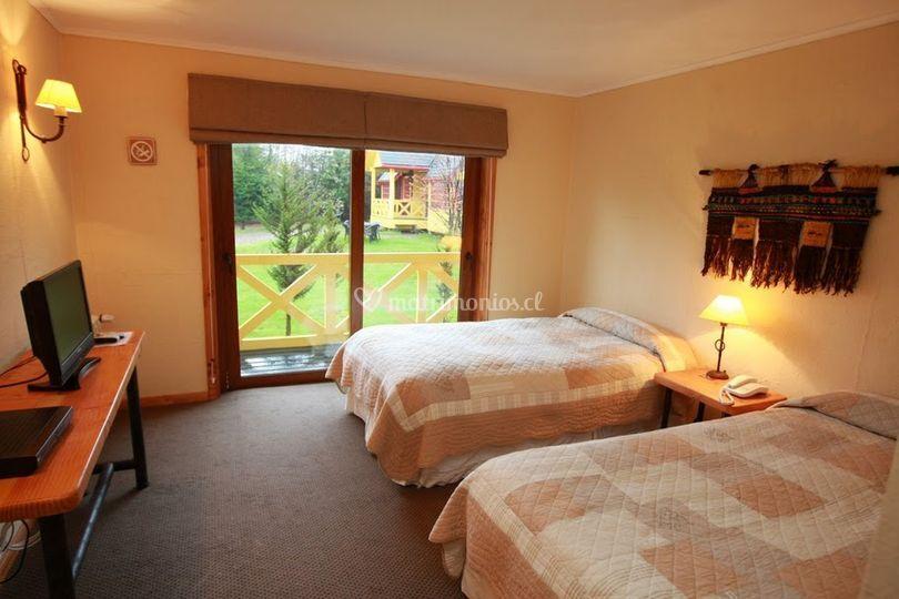 Habitaciones para los invitados