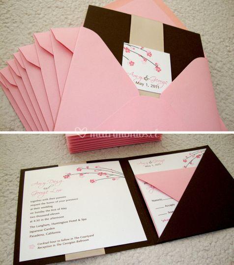 Invitación rose