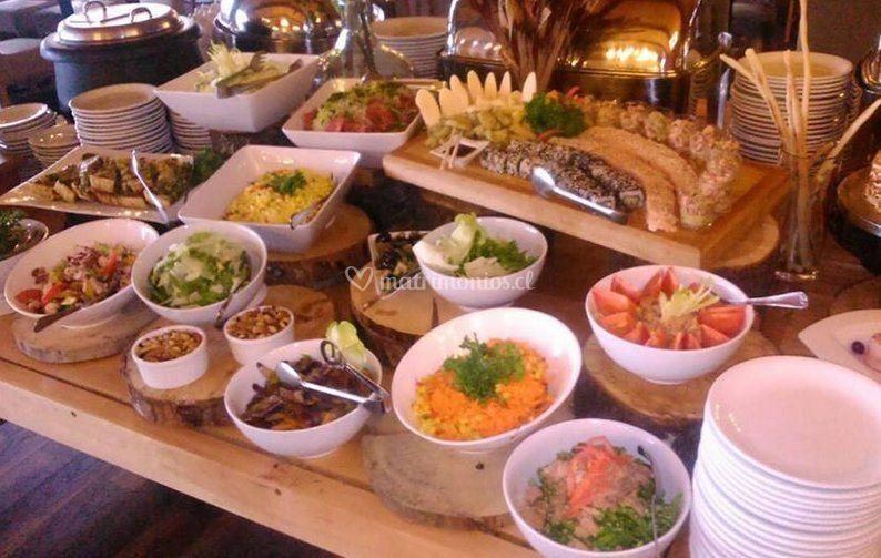 Variedad de comidas