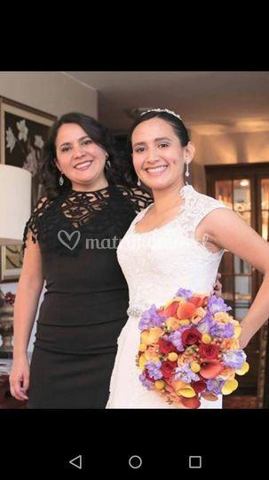 Novia y hermana
