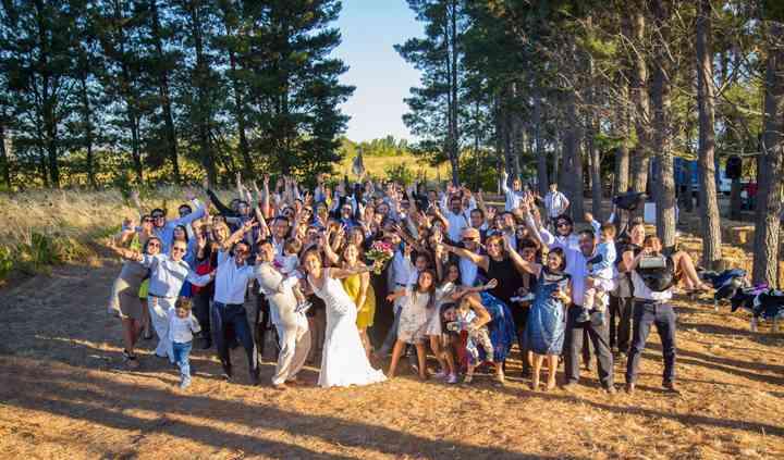 Festejados y 150 invitados