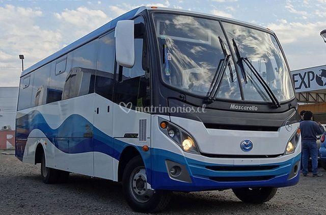 Microbus para los invitados