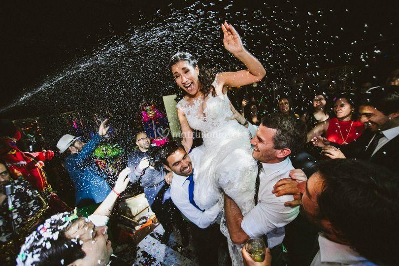 Momento de la novia