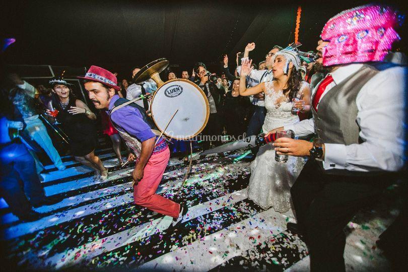 Chinchinero disco Festejo