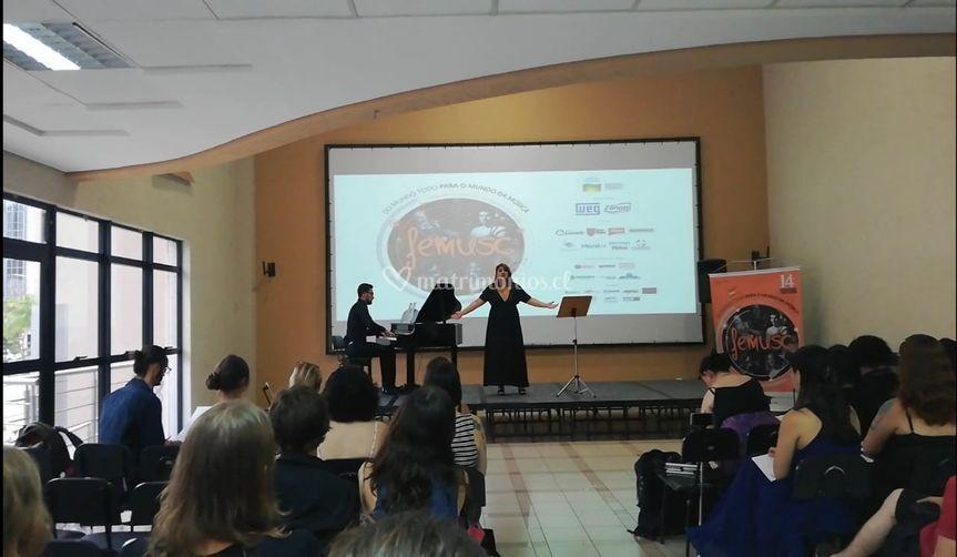 Concierto solista en Brasil
