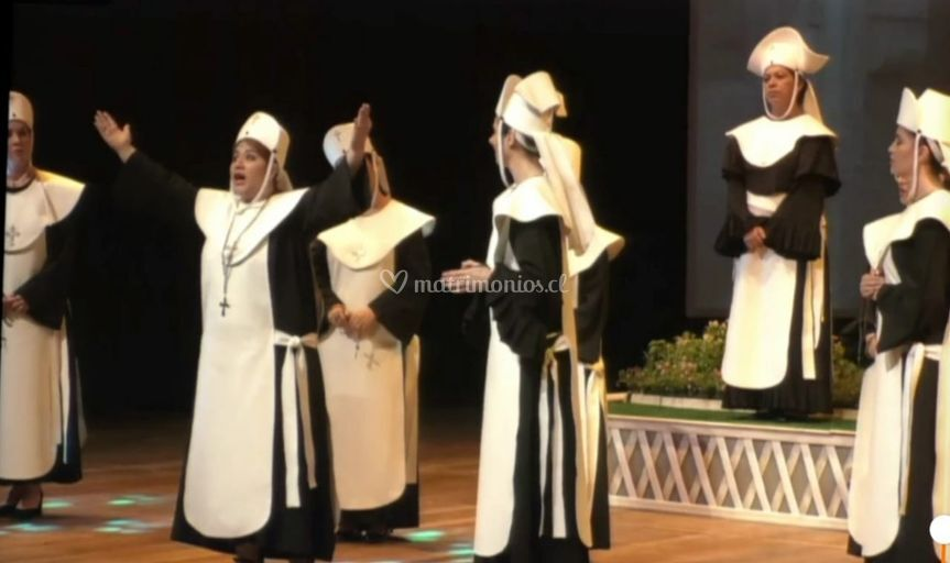 Novizie , ópera Sour Angélica
