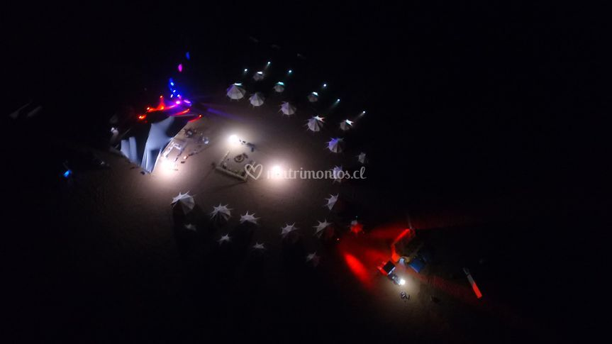 Dron evento