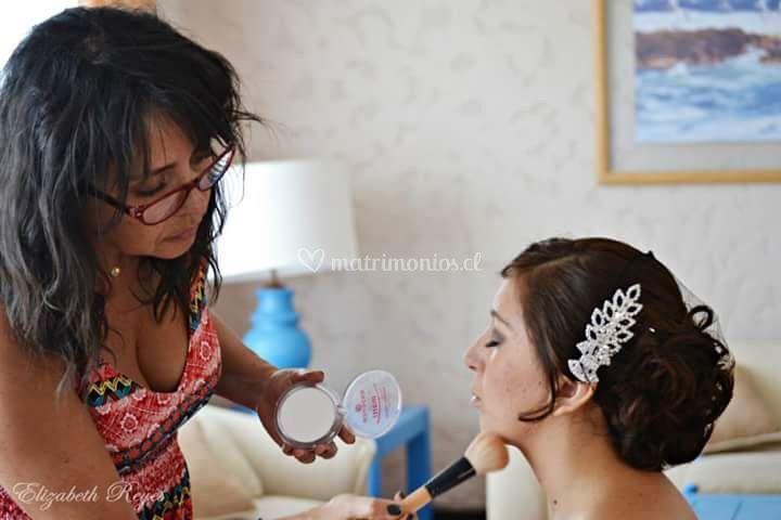 En la casa de la novia