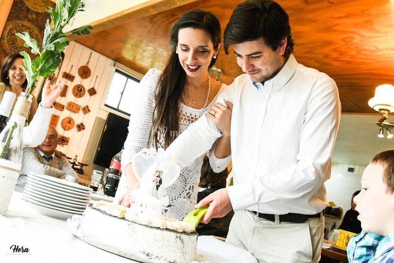 El momento de la torta