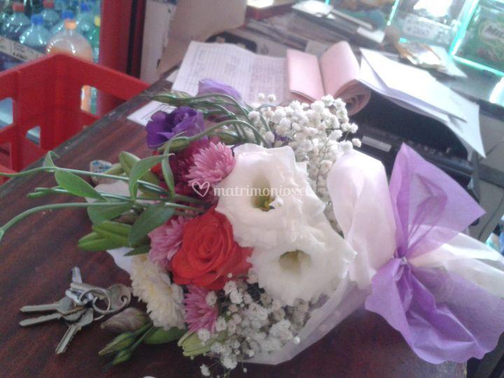 Ramo de novia decoflowers
