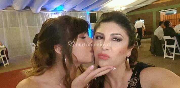 Maquillaje madre e hija