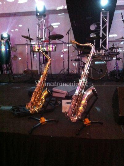 Saxofones Selmer Paris y Yamaha