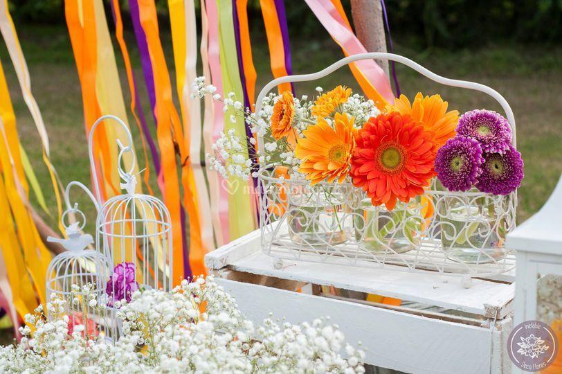 Flores matrimonio civil