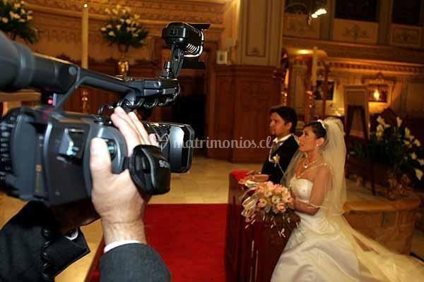 Grabando boda