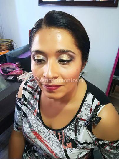 Bello maquillaje