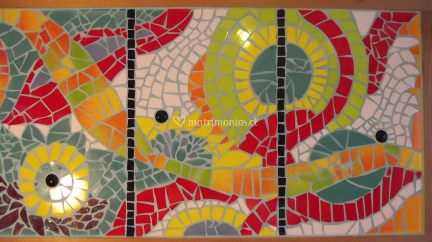 Cuadros decoración mosaico/rau