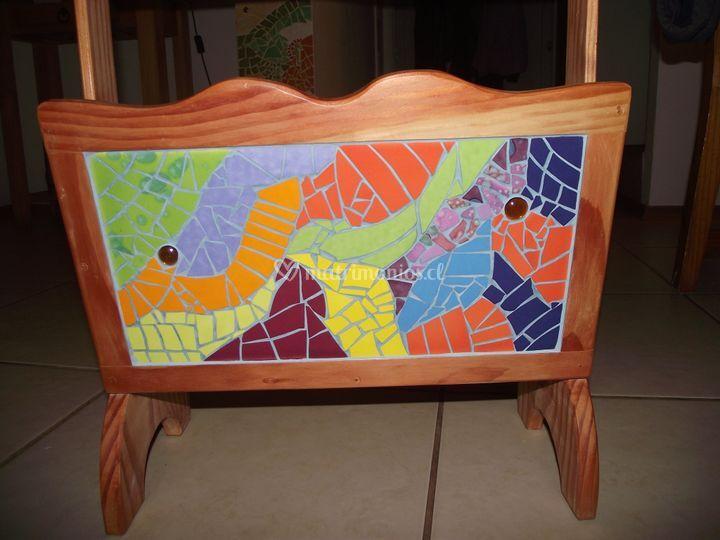 Revisteros raulí/mosaico
