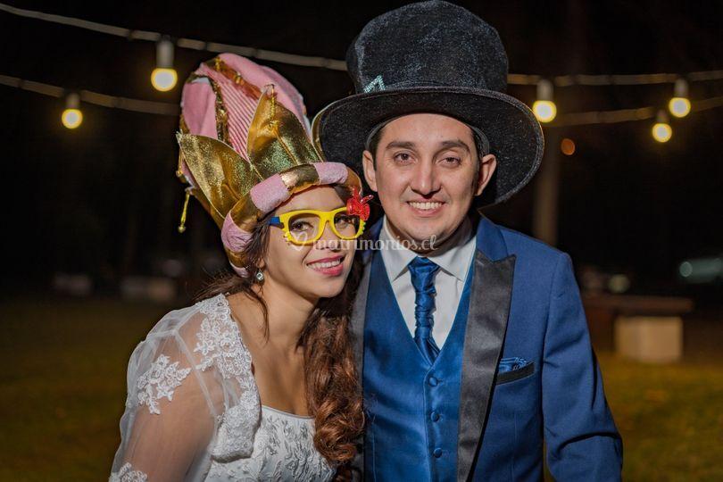 Nicole y Óscar