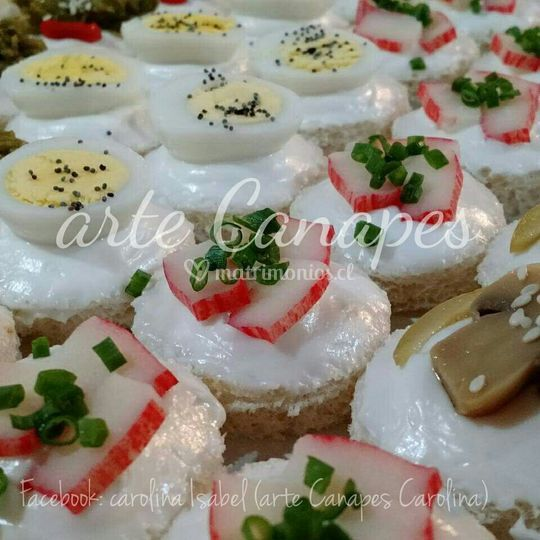 Canapes simples