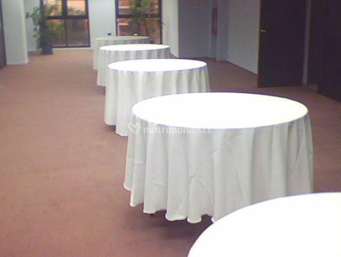 Mesas montadas
