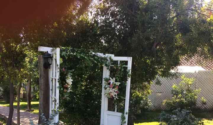Maravilla floral en arco