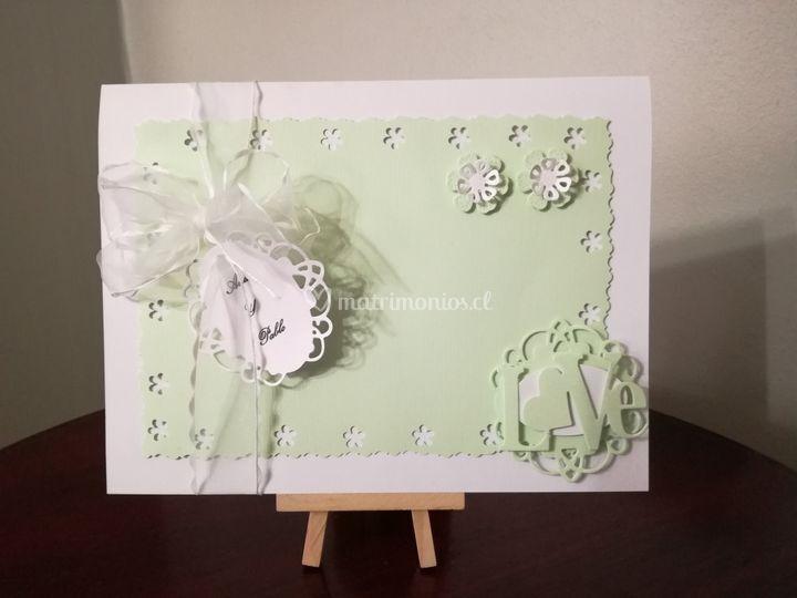 Parte boda encintado flores
