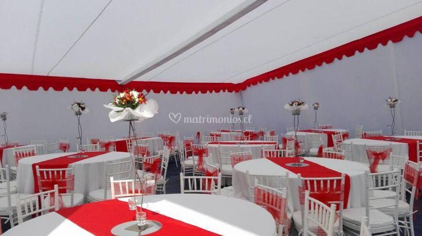 Carpa Matrimonio San Clemente