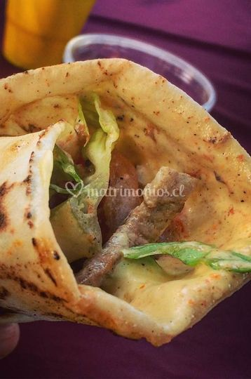 Fajita Carne Mechada