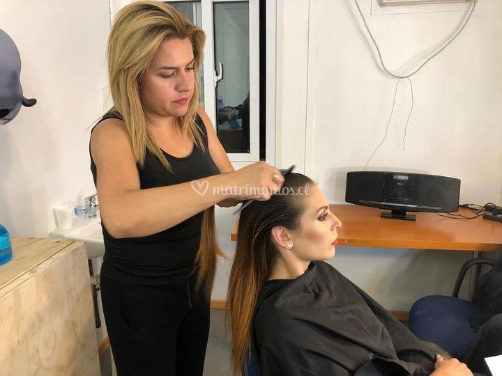 Peinado Eugenia Lemos