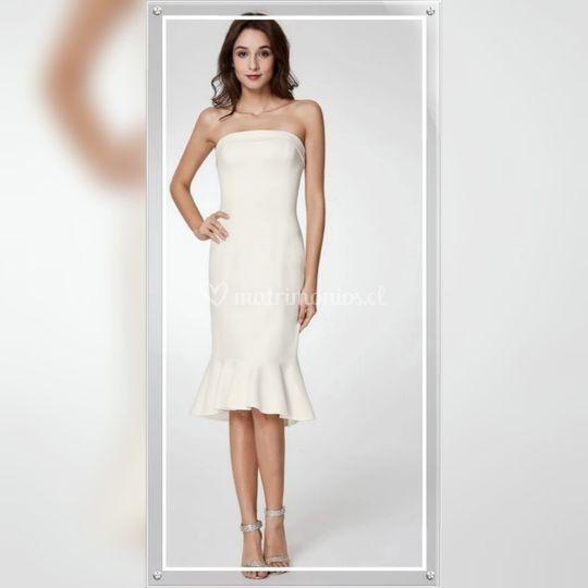 Vestido Glamour ,Talla M