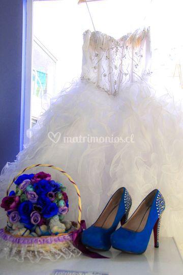 El vestido lo más hermoso