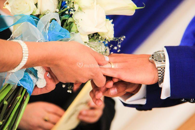 Puesta de anillos