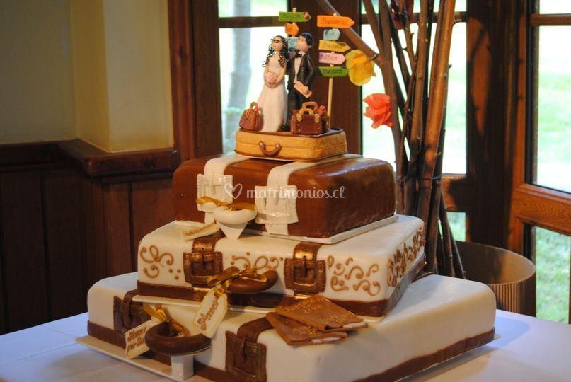 Torta Maleta