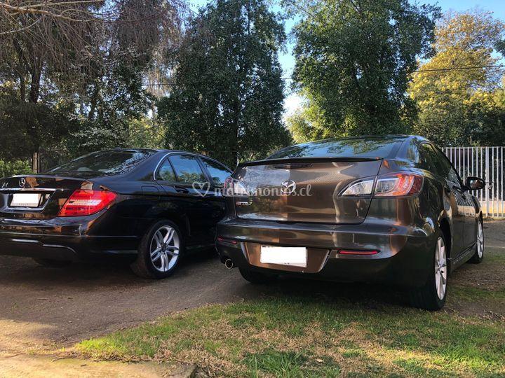 Mazda 3R y Mercedes Benz C180