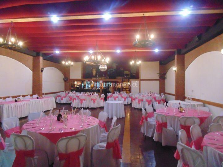 Salón rosado